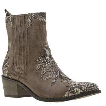 Coconuts Brown & Stone Cassidy Womens Boots