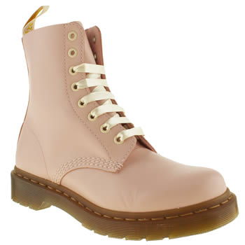 womens dr martens pale pink 8 eye pastel boots
