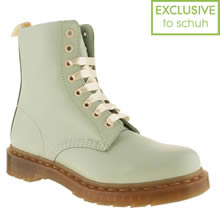 Pale Blue Dr Martens 8 Eye Pastel