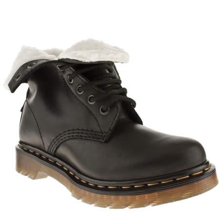 women 39 s black dr martens serena 8 eye boot boots schuh. Black Bedroom Furniture Sets. Home Design Ideas