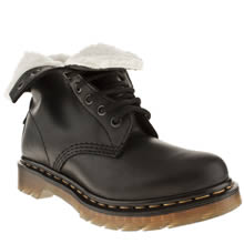 Black Dr Martens Serena 8 Eye Boot