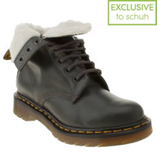 Grey Dr Martens Serena 8 Eye