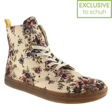 Beige Dr Martens Eclectic Shoreditch Rose