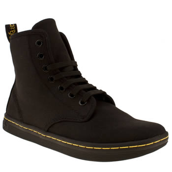 womens dr martens black eclectic shoreditch ankle boots