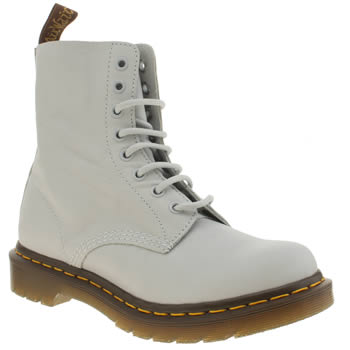 Dr Martens Pale Blue Pascal 8 Eye Womens Boots