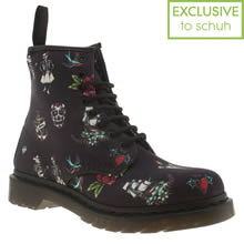 Navy Dr Martens 8 Eye Tattoo