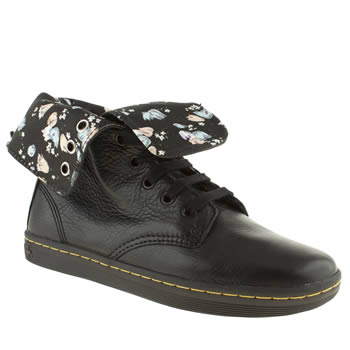 womens dr martens black eclectic stratford boots
