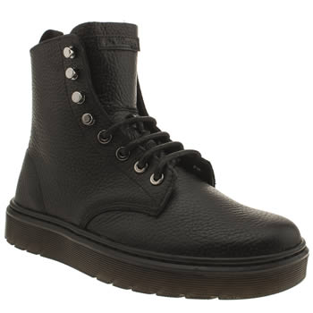 Dr Martens Black Lyric Disc Ankle Boots
