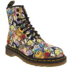 Dr Martens Multi Castel Adventure Time Toon Boots