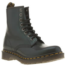 Dr Martens Dark Green 1460 8-eye Tracer Womens Boots