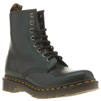 Dr Martens Dark Green 1460 8-eye Tracer Boots