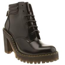 Dr Martens Black Seirene Persephone 6-eye Womens Boots
