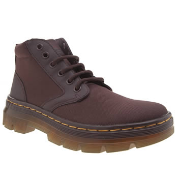 Dr Martens Burgundy Tract Bonny New Chukka Womens Boots