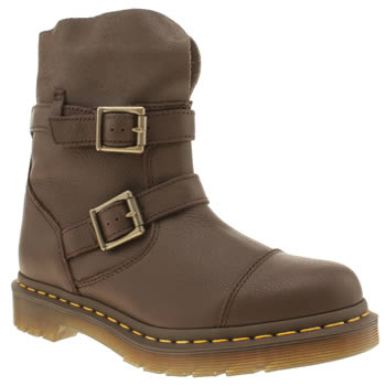 Dr Martens Dark Brown Rapture Kristy Slouch Boots