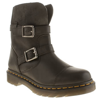 Dr Martens Black Rapture Kristy Slouch Boots