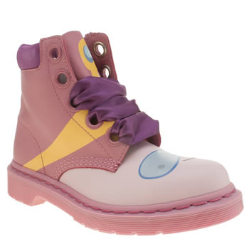 Womens Dr Martens Pink Adventure Time Bubblegum Boots