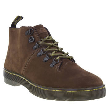 Dr Martens Brown Lahava 6 Eye Lined Chukka Womens Boots