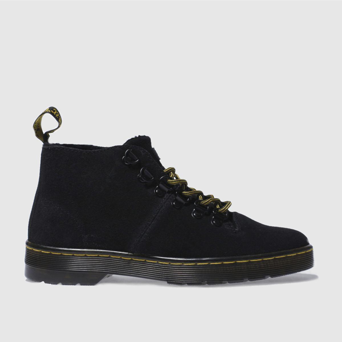 dr martens black lahava 6 eye lined chukka boots