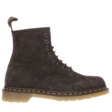 Dr Martens Dark Grey 1460 8 Eye Womens Boots