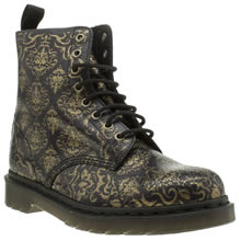 Dr Martens Purple Pascal Baroque 8 Eye Boots