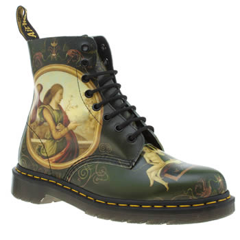 Dr Martens Dark Green Giannicola Di Paulo Pascal Boots