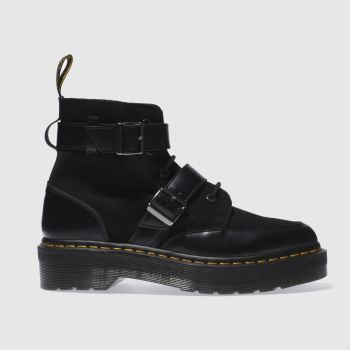 Dr Martens Black Masha Creeper Womens Boots