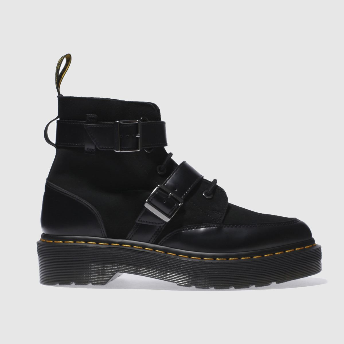 dr martens black masha creeper boots