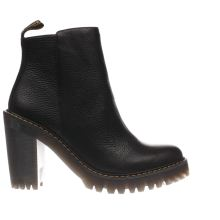 Dr Martens Black Seirene Magdalena Womens Boots