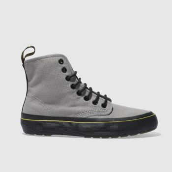 Dr Martens Grey Monet 8 Eye Womens Boots