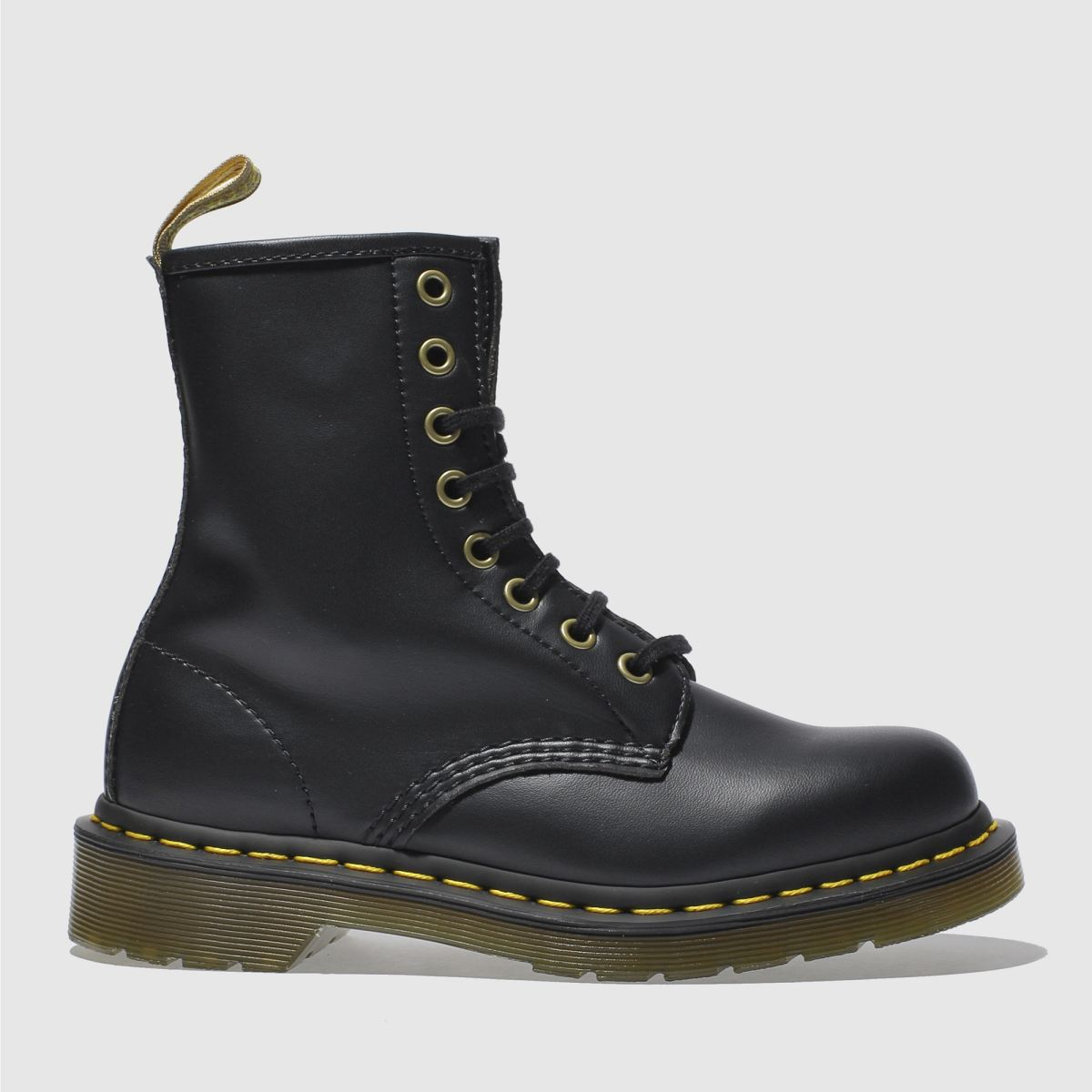 Dr Martens Black Vegan 1460 8 Eye Boots