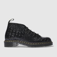 Dr Martens Black Church Croc Monkey Womens Boots