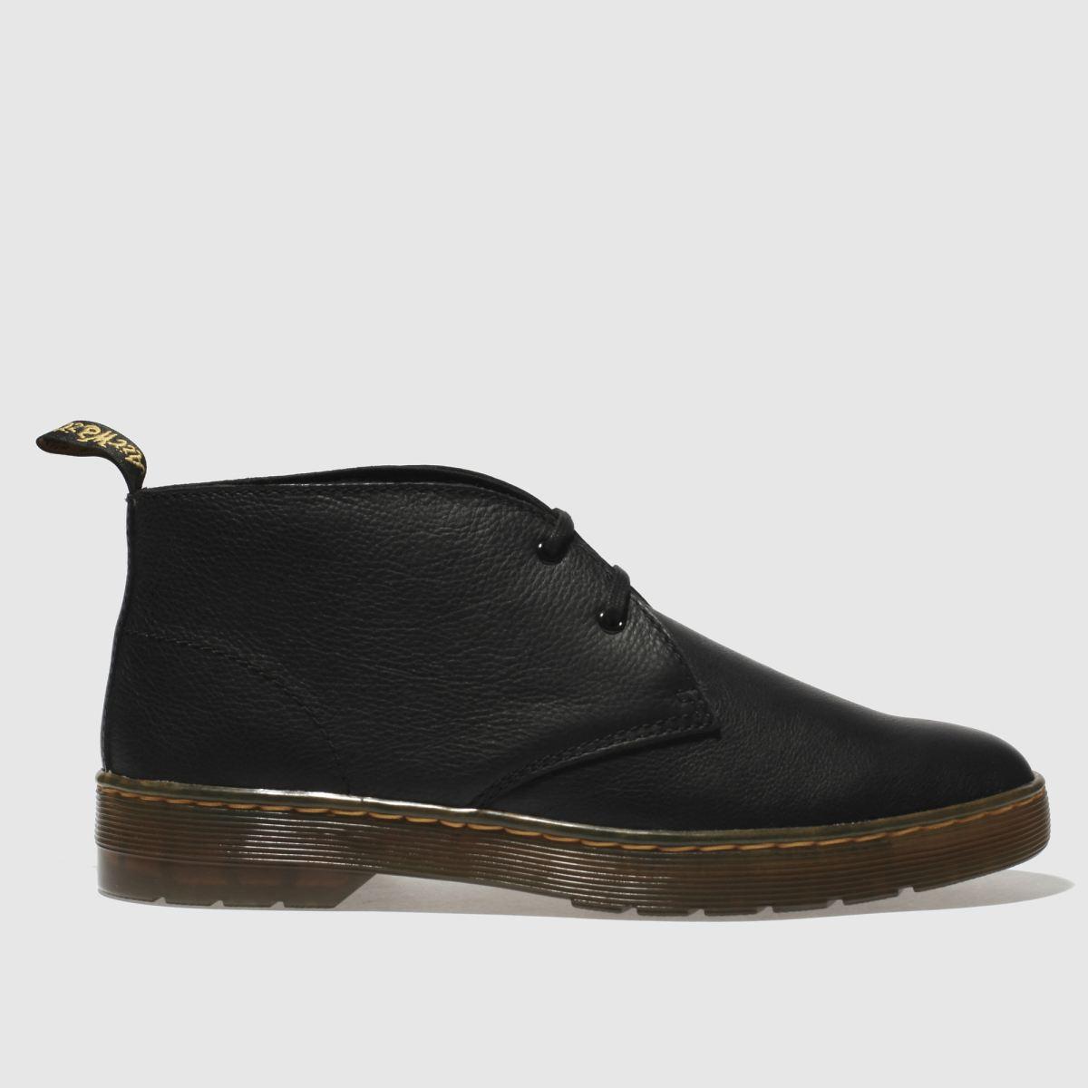 Dr Martens Black Daytona Desert Boots