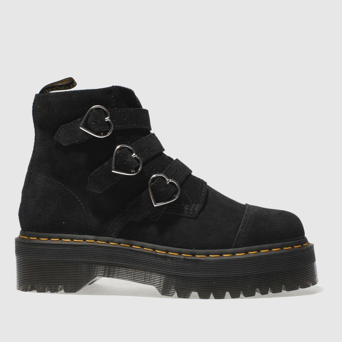 Dr Martens Black Buckle Boot Lazy Oaf Boots