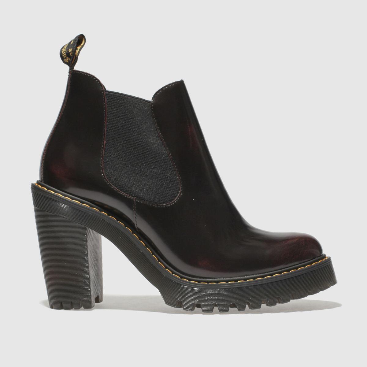 Dr Martens Burgundy Hurston Boots