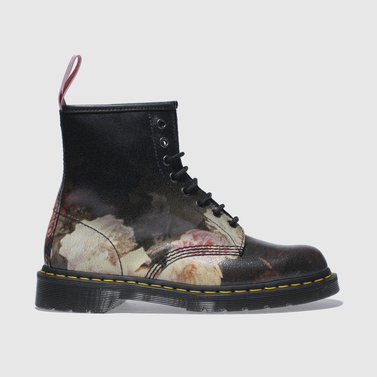 Dr Martens Black & Pink 1460 Power Corruption & Lies Boots