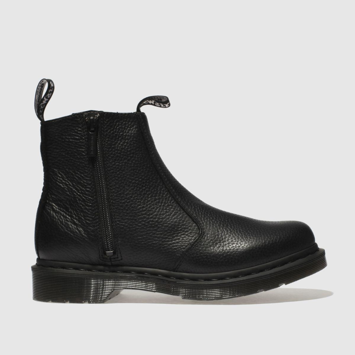 Dr Martens Black 2976 Zip Chelsea Boots