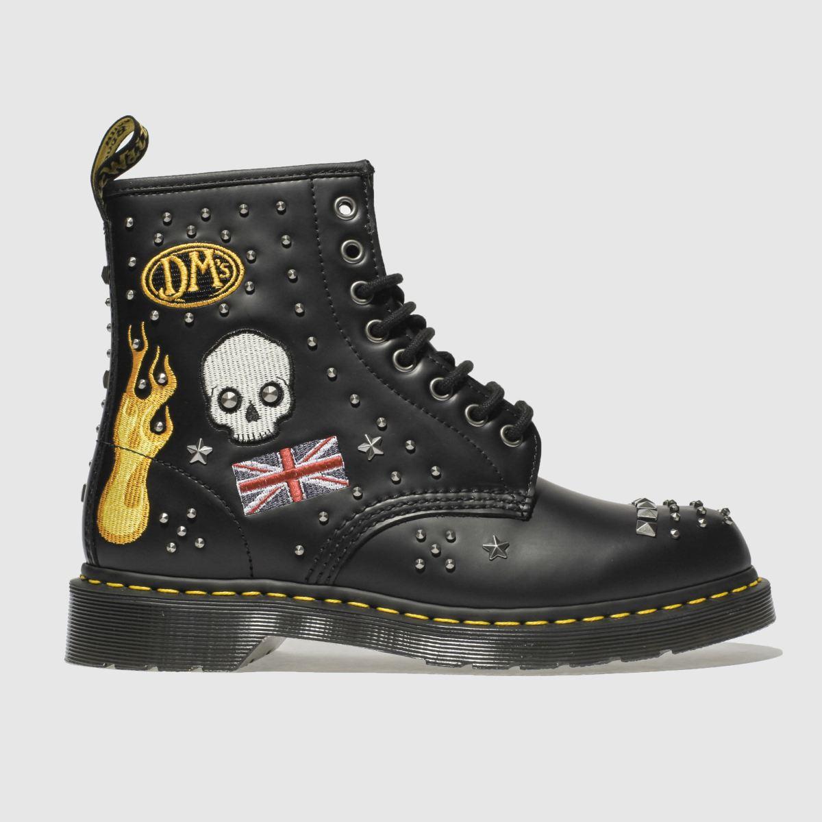 Dr Martens Black 1460 Rockabilly Boots