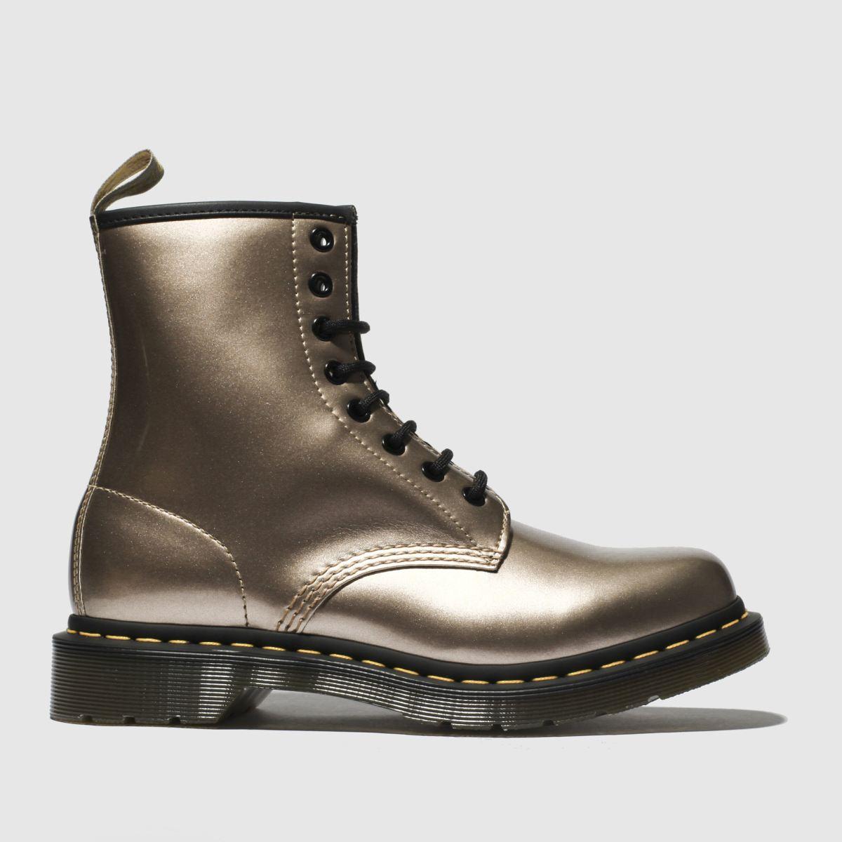 Dr Martens Gold 1460 Vegan Chrome 8 Eye Boots