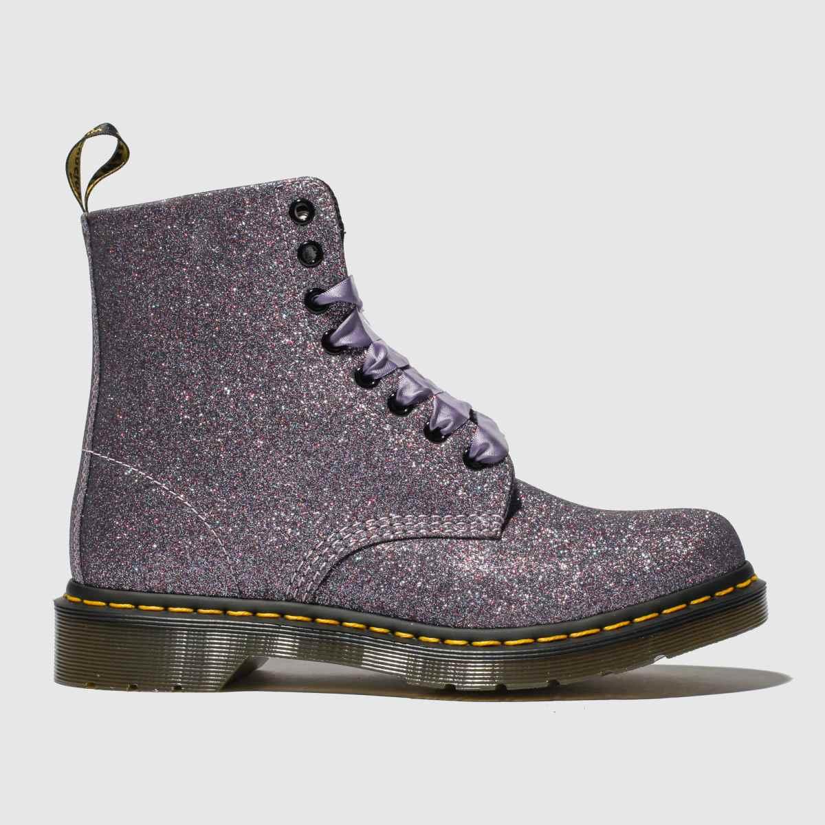 Dr Martens Multi Pascal 8 Eye Glitter Boots