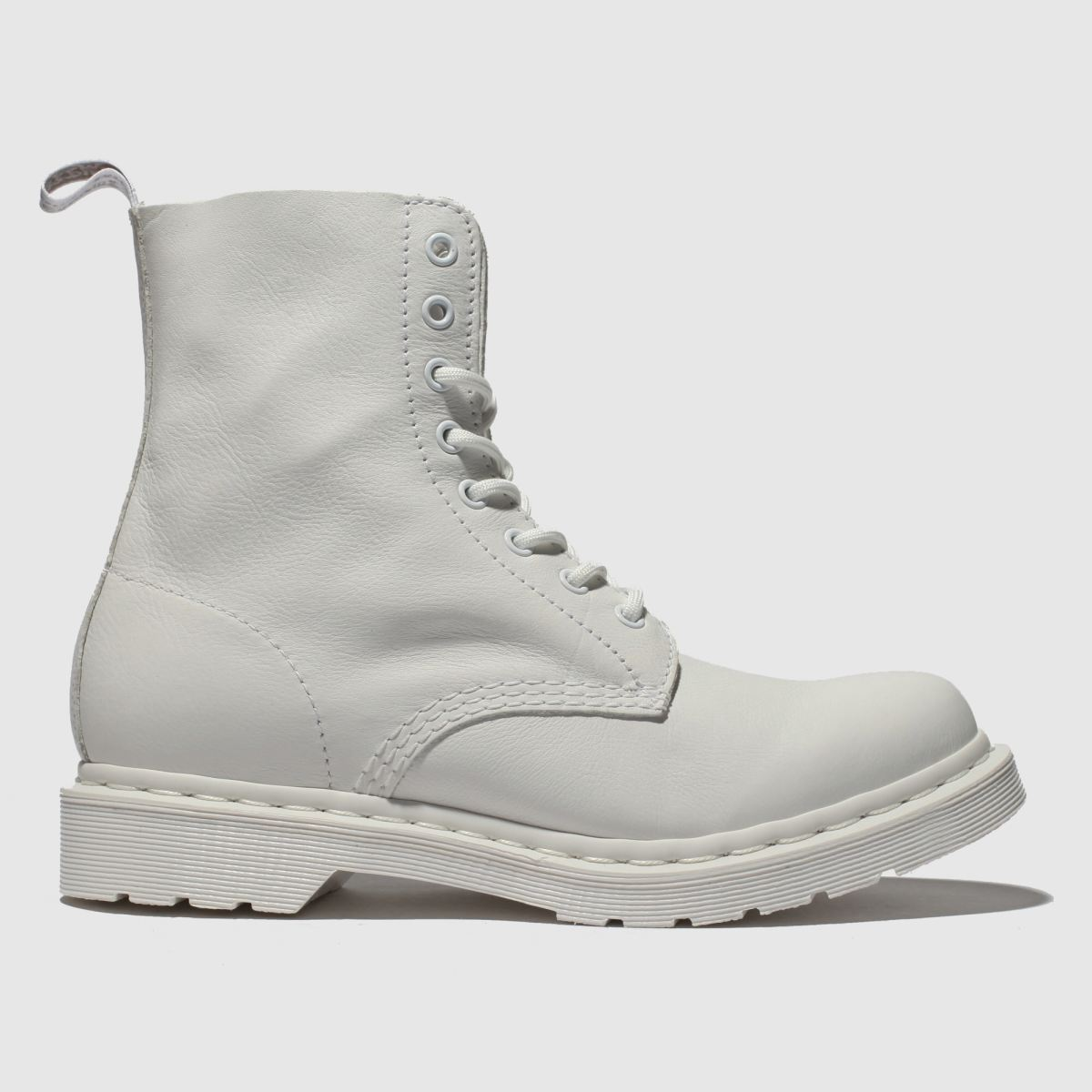 Dr Martens White 1460 Pascal Mono Boots