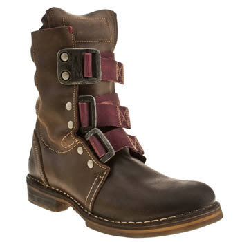 Womens Fly London Brown Norton Nif Boots