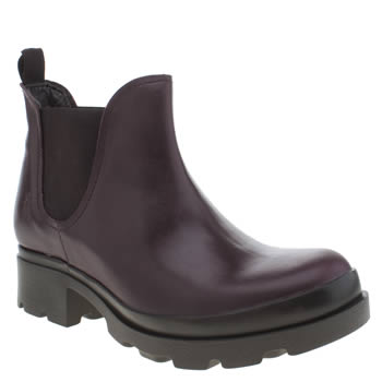 Womens Fly London Purple Mena Boots
