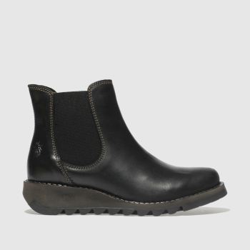 FLY LONDON BLACK SALV BOOTS