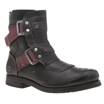 Fly London Black Seli Womens Boots