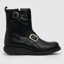 Fly London Black Same Womens Boots