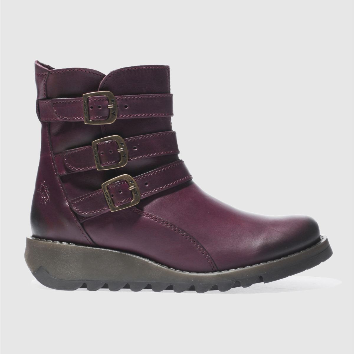 Fly London Purple Sard Boots