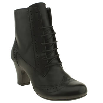 womens hush puppies black divine ii boots