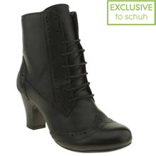 Black Hush Puppies Divine Ii