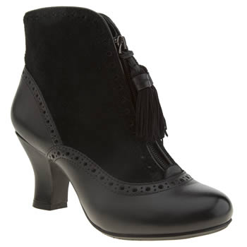 Womens Hush Puppies Black Lolita Boots