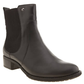 Hush Puppies Black Lana Chamber Boots
